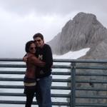 Kayak Guy Atlanta at 10,000 feet! With my wife.
